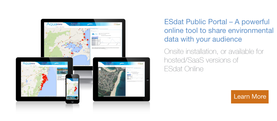 ESdat Environmental Public Portal
