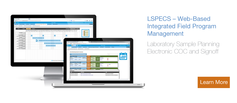 LSPECS web based cloud Data Management