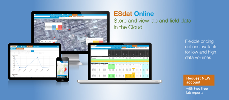 ESdat Online Data Management